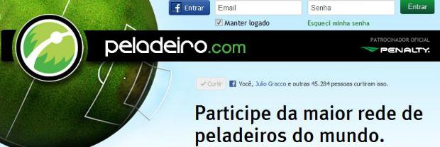 Peladeiro faz muito sucesso no Brasil (Foto: Reprodução/Thiago Barros)