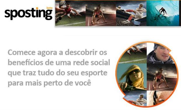 Sposting é uma espécie de fórum virtual sobre esportes (Foto: Reprodução/Thiago Barros)