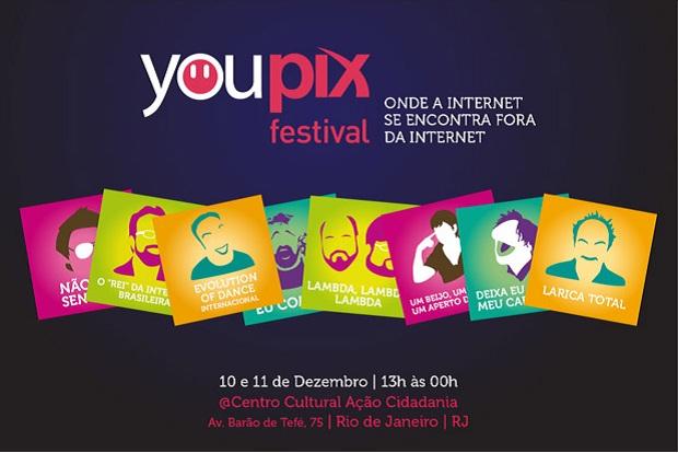 YouPix Festival Rio acontece nos dias 10 e 11 de dezembro (Foto: Divulgação)
