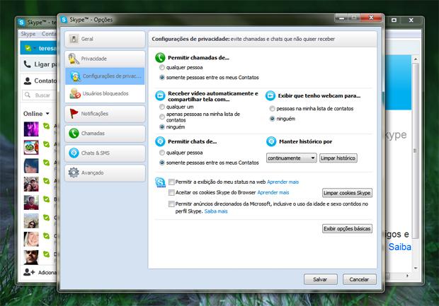 3 configurando a privacidade no skype