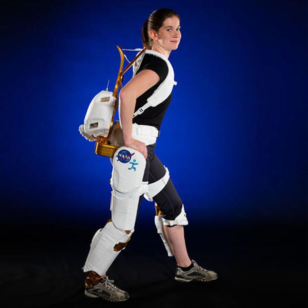 Exoesqueleto foi criado para que astronautas mantenham boa postura (Foto: Divulgação)