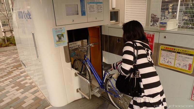Conheça o Eco-Cycle, o estacionamento subterrâneo para bicicletas. (Foto: Reprodução)