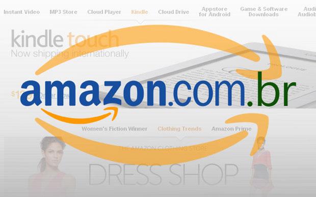 A Amazon finalmente chega ao Brasil (Foto: Reprodução)