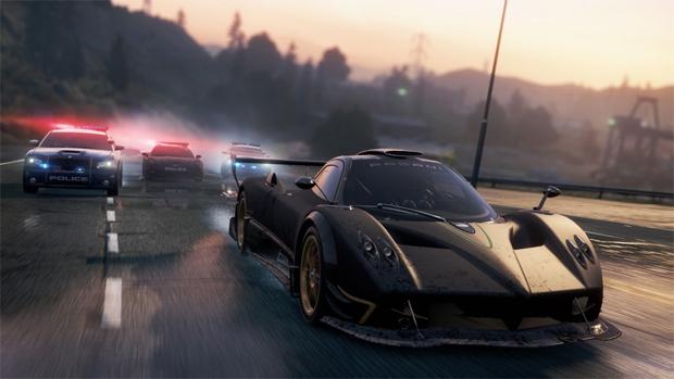 Além de belo, o Pagani Zonda R não dá chance à polícia de Need for Speed: Most Wanted (Foto: VG247)