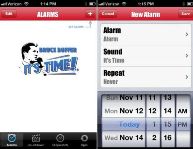 App de Bruce Buffer já está disponível para iOS (Foto: Divulgação)