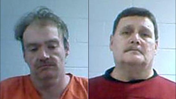 Os acusados de assassinato James Curd, 38, e Marvin Potter, 60 (Foto: Reprodução) (Foto: Os acusados de assassinato James Curd, 38, e Marvin Potter, 60 (Foto: Reprodução))