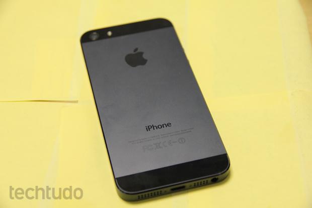 iPhone 5 (Foto: Marlon Câmara/TechTudo)
