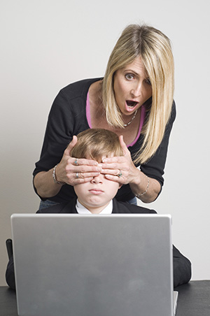 Pais e filhos se desentendem na web (Foto: Reprodução)