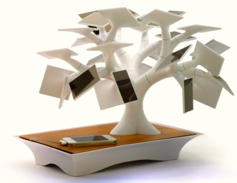 O designer francês Vivien Muller se inspirou nos pequenos bonsais para criar o Electree (Foto: Divulgação) (Foto: O designer francês Vivien Muller se inspirou nos pequenos bonsais para criar o Electree (Foto: Divulgação))