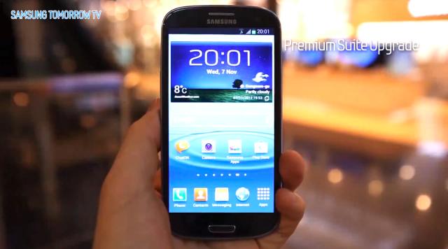 Samsung revela detalhes finais sobre sua grande atualização do Galaxy S3 (Foto: Reprodução)