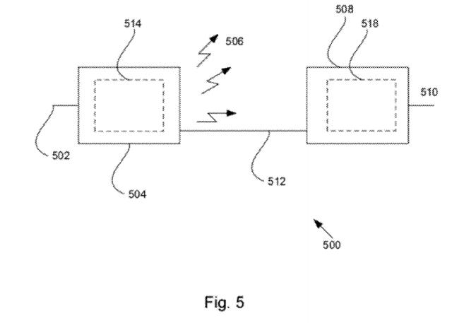 Uma página da aplicação de patente da Apple para o carregamento sem fio (Foto: Divulgação)