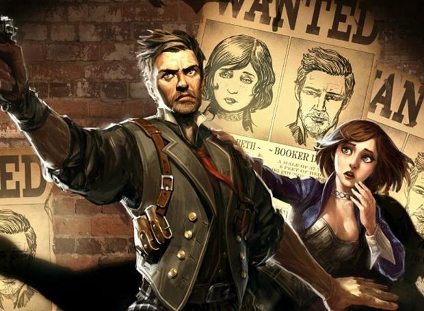 Booker e Elizabeth são os heróis de BioShock Infinite (Foto: Divulgação)