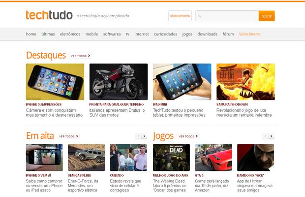 TechTudo faz dois anos (Foto: Reprodução)