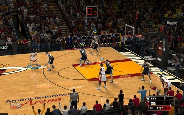 Chamar jogadas no NBA 2K13 é simples e eficiente (Foto: Divulgação) (Foto: Chamar jogadas no NBA 2K13 é simples e eficiente (Foto: Divulgação))