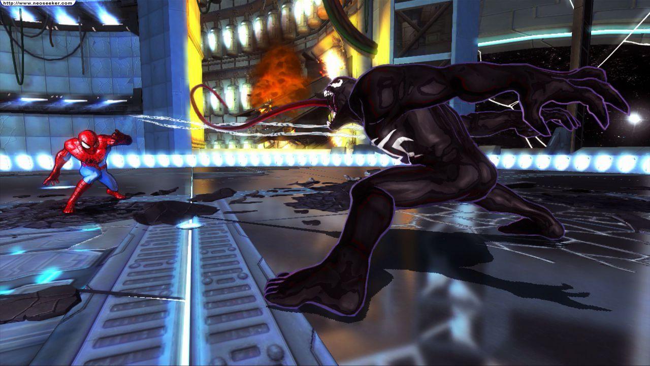 Homem-Aranha também está em Avengers: Battle for Earth (Foto: Reprodução)