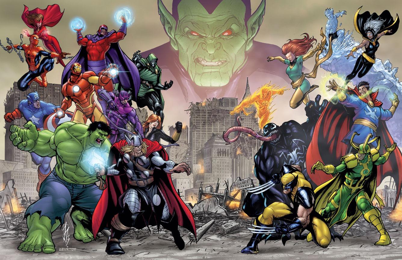 Arte interna de Avengers: Battle for Earth (Foto: Reprodução)