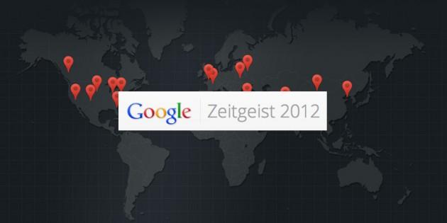 Google disponibiliza o relatório anual Zeitgeist, com os maiores acontecimentos de 2012. (Foto: Reprodução)