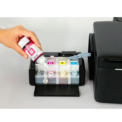 Canhã de tinta da impressora Epson L200 (Foto: Divulgação)