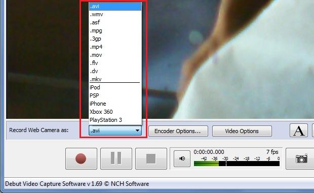 Escolhendo o formato de saída do vídeo (Foto: reprodução/Edivaldo Brito)