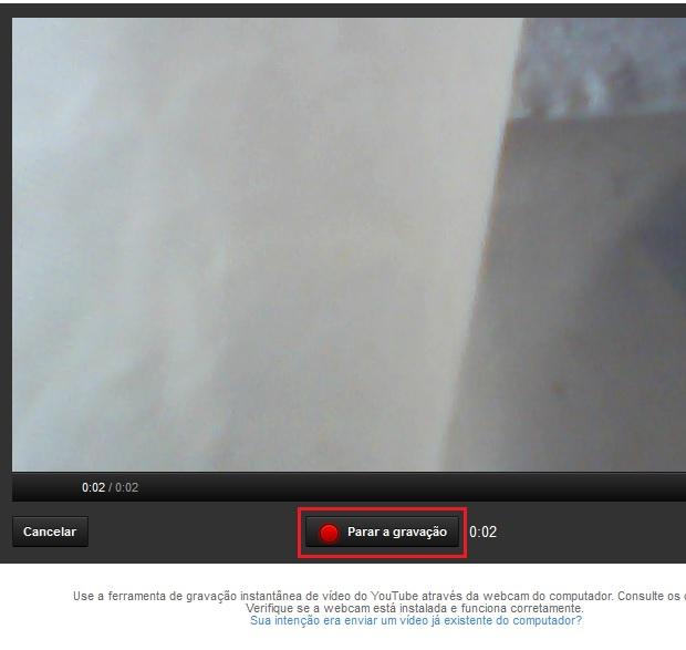 Finalizando a gravação do vídeo (Foto: reprodução/Edivaldo Brito)