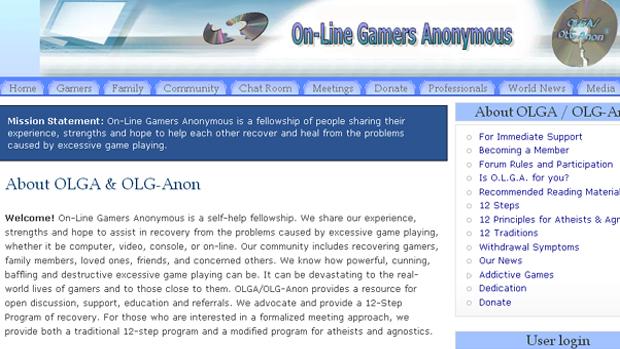 Online Gamers Anonymous é um programa de auxílio a viciados em jogos criados por Liz Moolley (Foto: Divulgação)
