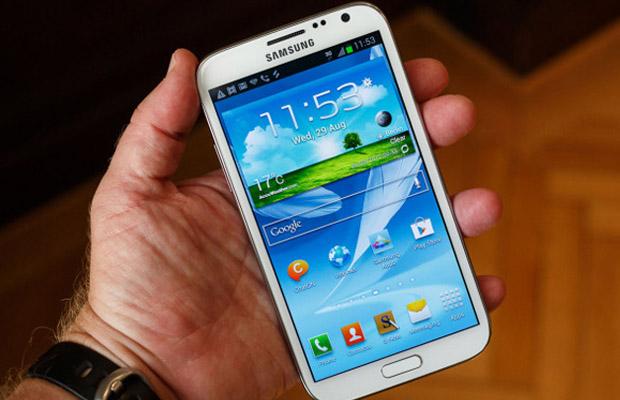 Samsung começa a liberar atualização para seu Galaxy Note 2 (Foto: Reprodução)