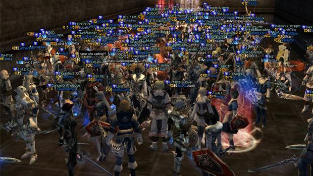 Guildas de Lineage 2 levaram briga do mundo virtual para o real (Foto: Divulgação) (Foto: Guildas de Lineage 2 levaram briga do mundo virtual para o real (Foto: Divulgação))