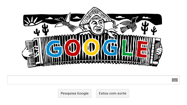 Centenário de Luiz Gonzaga é homenageada por Doodle do Google (Foto: Reprodução/Ricardo Fraga)