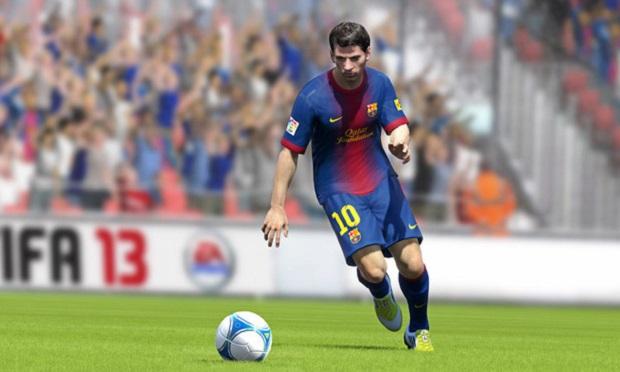 Messi é o cara no Fifa 13 (Foto: Divulgação) (Foto: Messi é o cara no Fifa 13 (Foto: Divulgação))