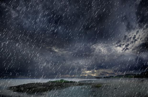 Efeito de tempestade criado com o Photoshop (Foto: Reprodução/André Sugai)
