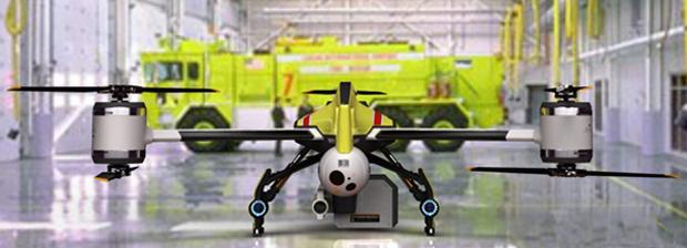 Helicóptero Hatchet tem seis rotores (Foto: Reprodução)