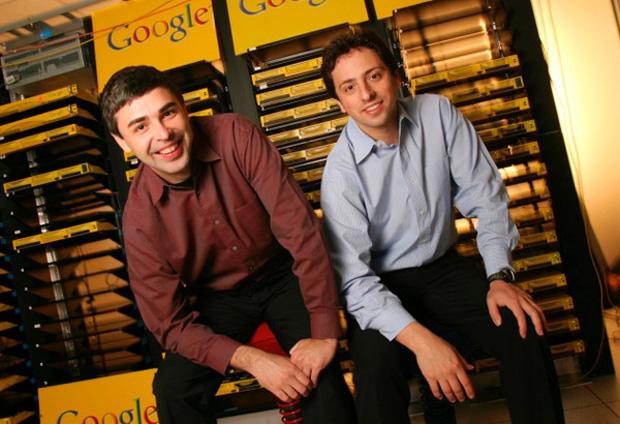 Larry Page e Sergey Brin (Foto: Divulgação)
