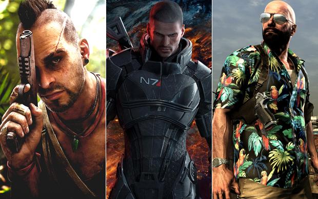 Far Cry 3, Mass Effect 3 ou Max Payne 3. Qual o melhor jogo do ano? (Foto: Reprodução)