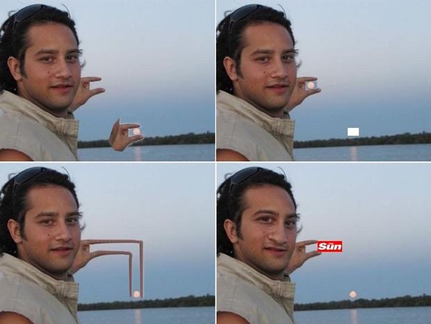"""Quatro das sete imagens criadas pelo usuário do Tumblr """"securethevictory"""" (Foto: Reprodução)"""