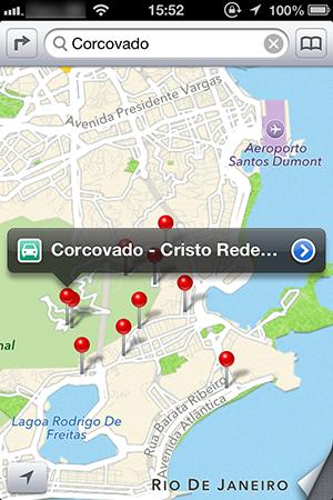 Apple Maps poderá trazer dados do Foursquare (Foto: Reprodução)