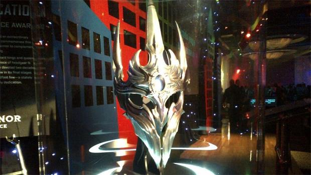 Elmo medieval é prêmio da Blizzard para seus funcionários veteranos (Foto: Reprodução)