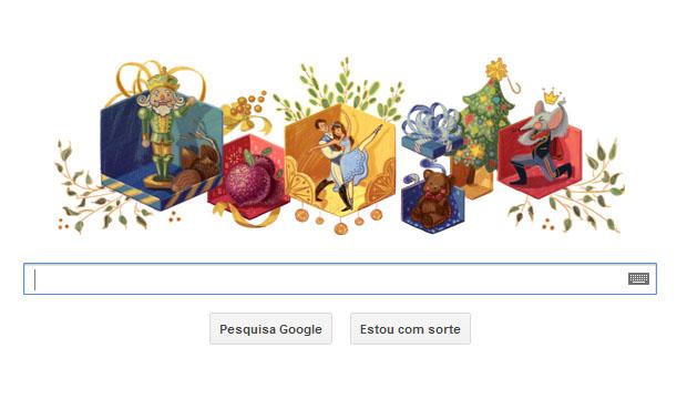"""Doodle comemora os 120 anos de """"O Quebra-Nozes"""" (Foto: Reprodução)"""