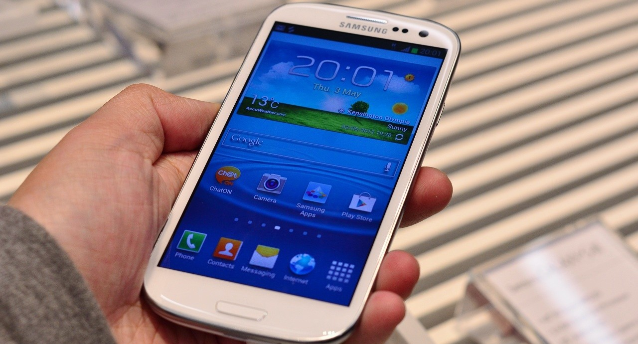 Samsung Galaxy S3 S III SGS3 hands-on (Foto: Samsung Galaxy S3 S III