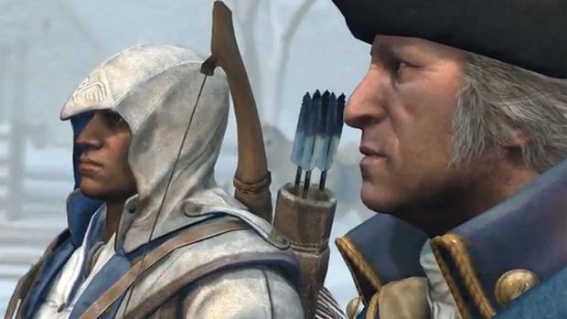 Bugs de Assassin's Creed 3 ainda matam menos que assassinos (Foto: Divulgação)