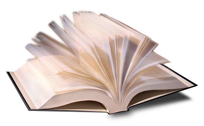 Livro aberto (Foto: Reprodução)