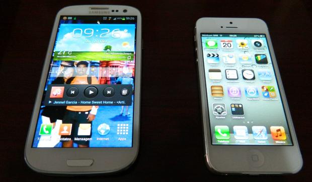 S3 é mais personalizável do que o iPhone 5 (Foto: Reprodução/Thiago Barros)