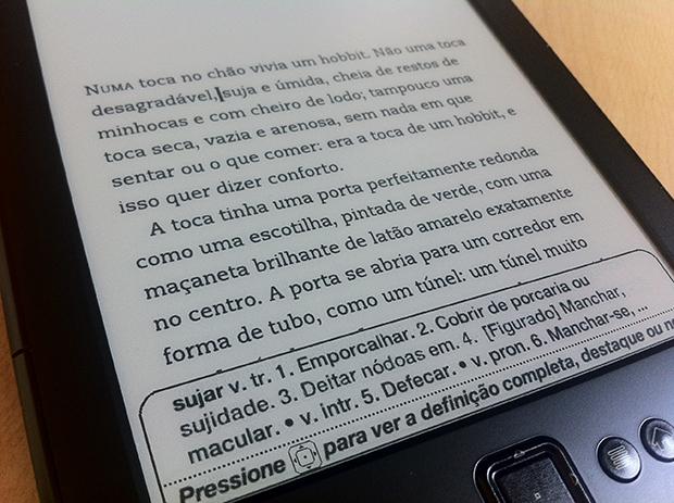 Definição de palavras, com base no dicionário (Foto: André Fogaça)