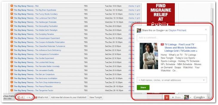 Google prepara barra do Google+ para sites. (Foto: Reprodução / The Next Web)