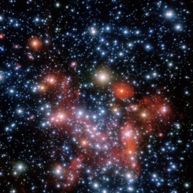 Imagem de galáxia utilizada no tutorial (Foto: Reprodução)