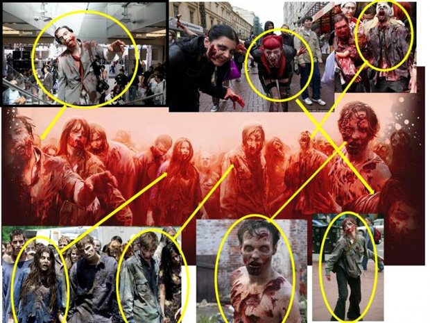 War Z teria copiado arte de The Walking Dead (Foto: Reprodução) (Foto: War Z teria copiado arte de The Walking Dead (Foto: Reprodução))