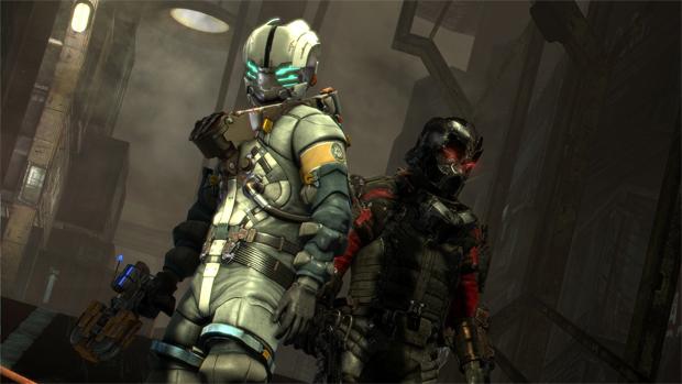 Dead Space 3 permite xingamentos até no modo cooperativo (Foto: Divulgação)