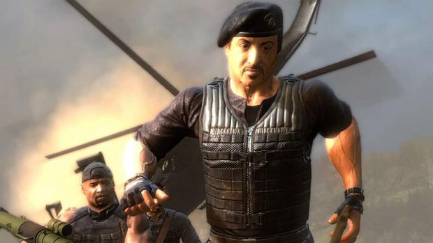 The Expendables 2 Videogame (Foto: Divulgação) (Foto: The Expendables 2 Videogame (Foto: Divulgação))