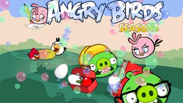 Angry Birds Seasons (Foto: Divulgação) (Foto: Angry Birds Seasons (Foto: Divulgação))