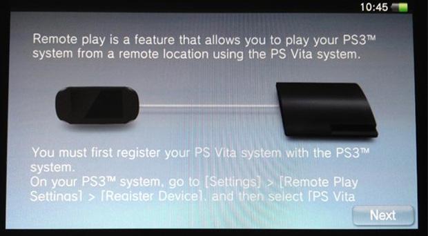 Ligação do Vita com o PS3 (Foto: Divulgação)