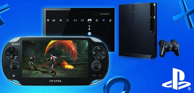 O Remote Play permite controlar o PS3 pelo Vita (Foto: Divulgação)